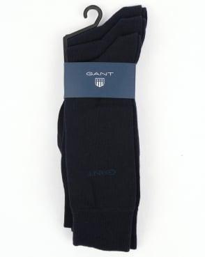 Gant 3 Pack Socks Marine