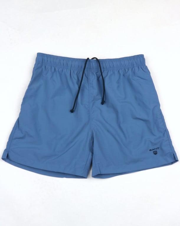 Gant Basic Swim Shorts Blue Ocean