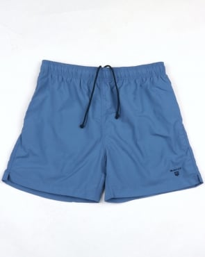 Gant Basic Swim Shorts Blue Ocean