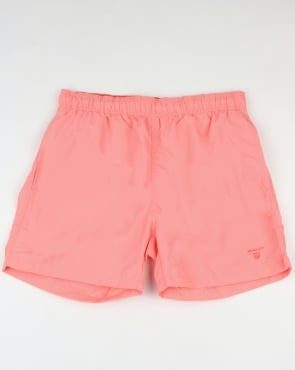 Gant Basic Swim Shorts Strawberry Pink
