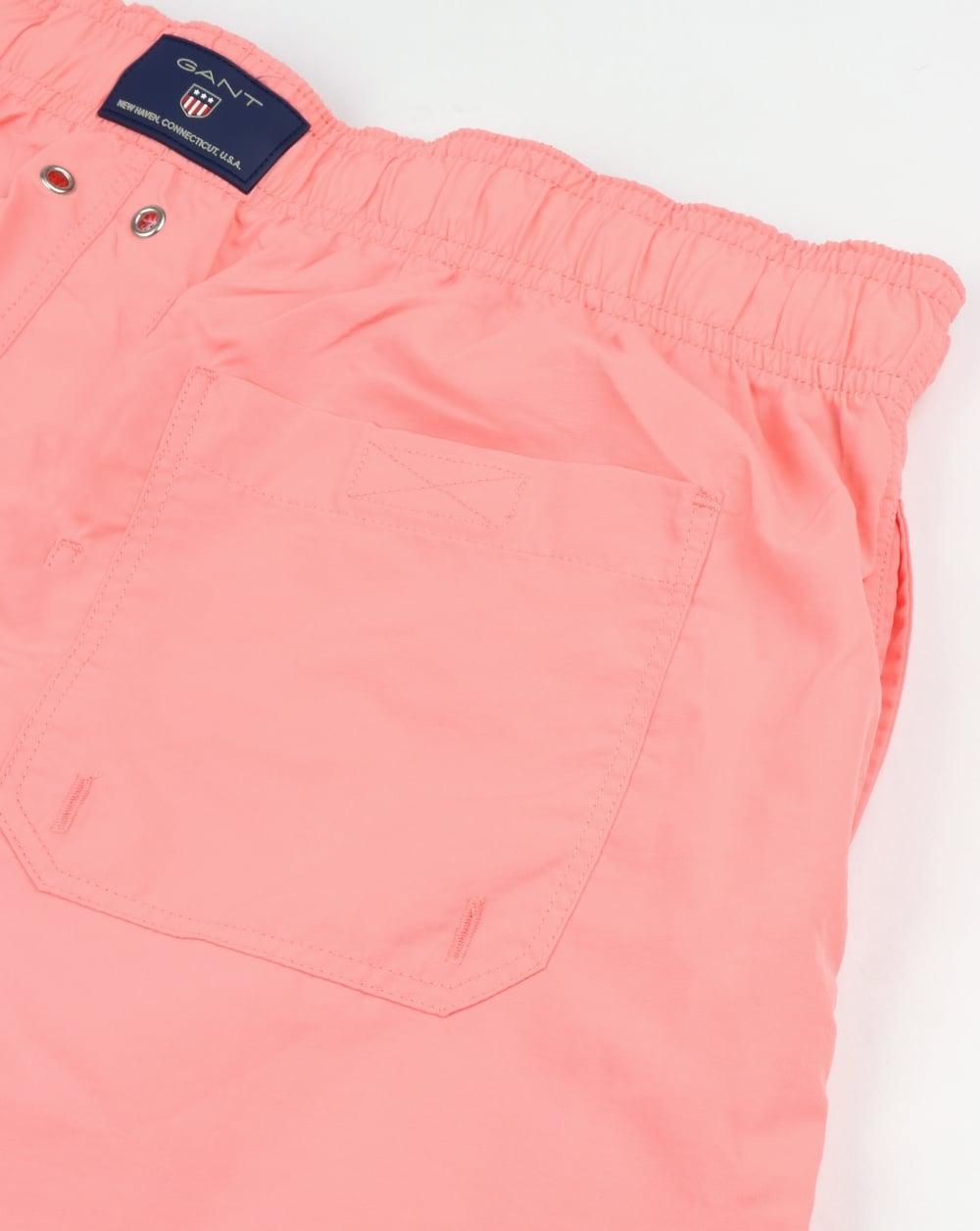 Basic Swim Shorts - Strawberry Pink GANT 2018 New Cheap Price Inexpensive For Sale Sale Fake Marketable sLPNK