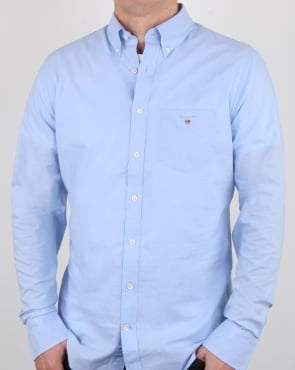 Gant Broadcloth Shirt Hamptons Blue