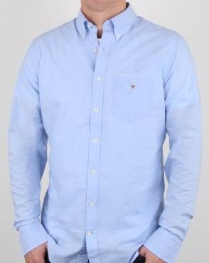 Gant Broadcloth Shirt Hamptons Blue