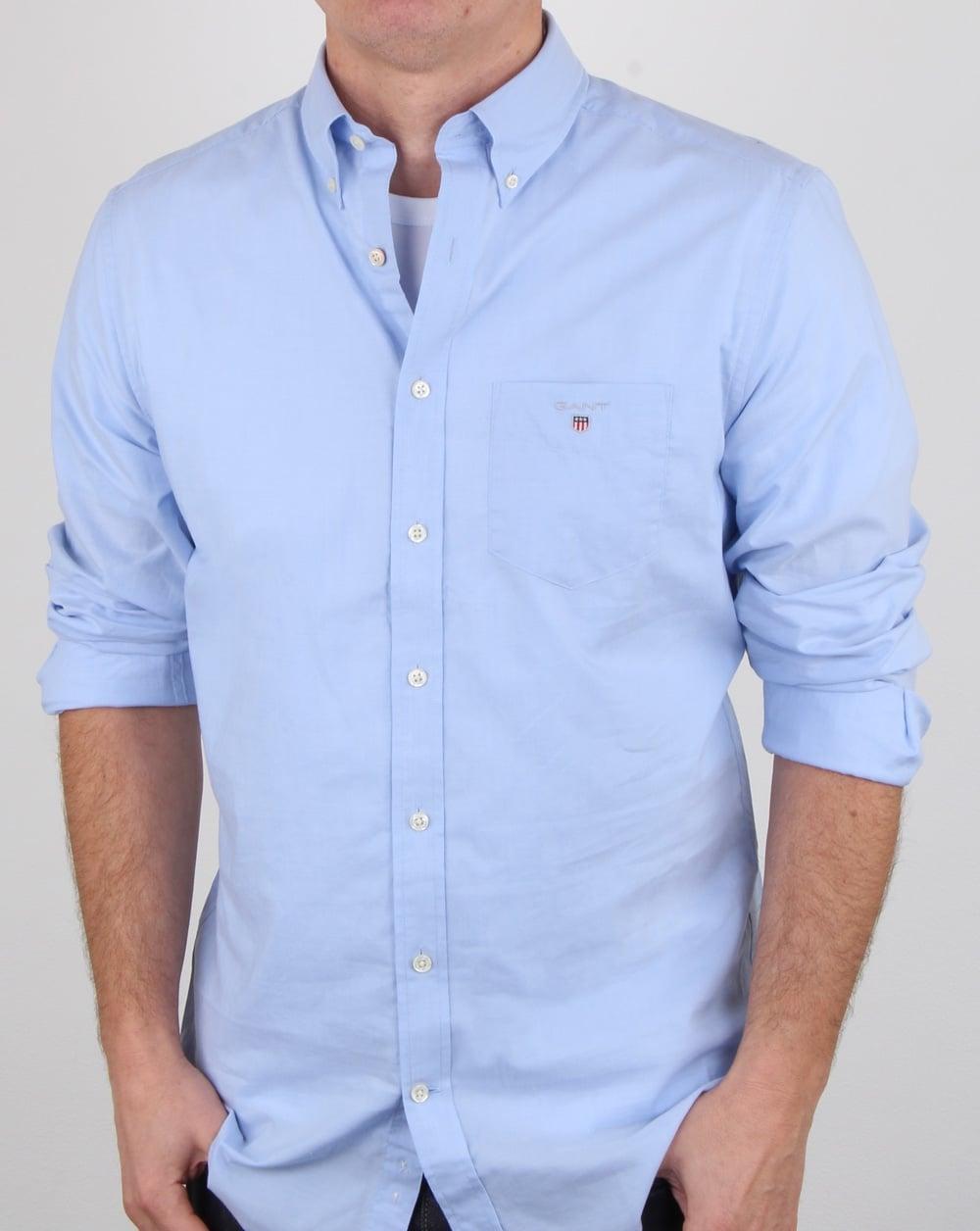 b07f0ea1c03 Gant Broadcloth Shirt Hamptons Blue. Button Collar | 80s casual classics
