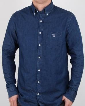 Gant Indigo Shirt Dark Indigo