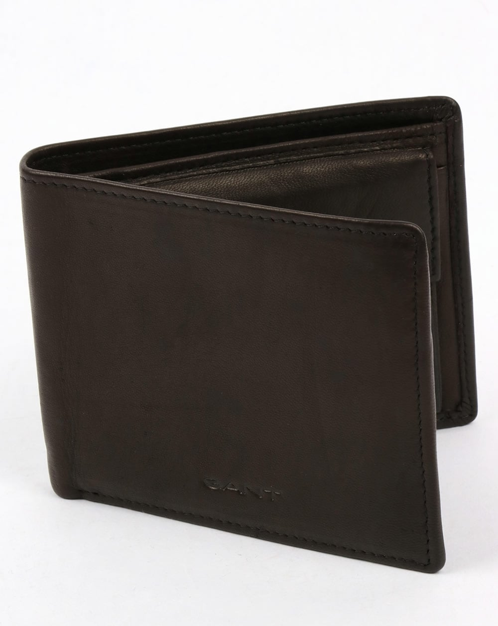 426383d9db Gant Leather Wallet Black Mud,premium,purse,card holder,mens
