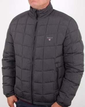 Gant Lw Cloud Jacket Charcoal Melange