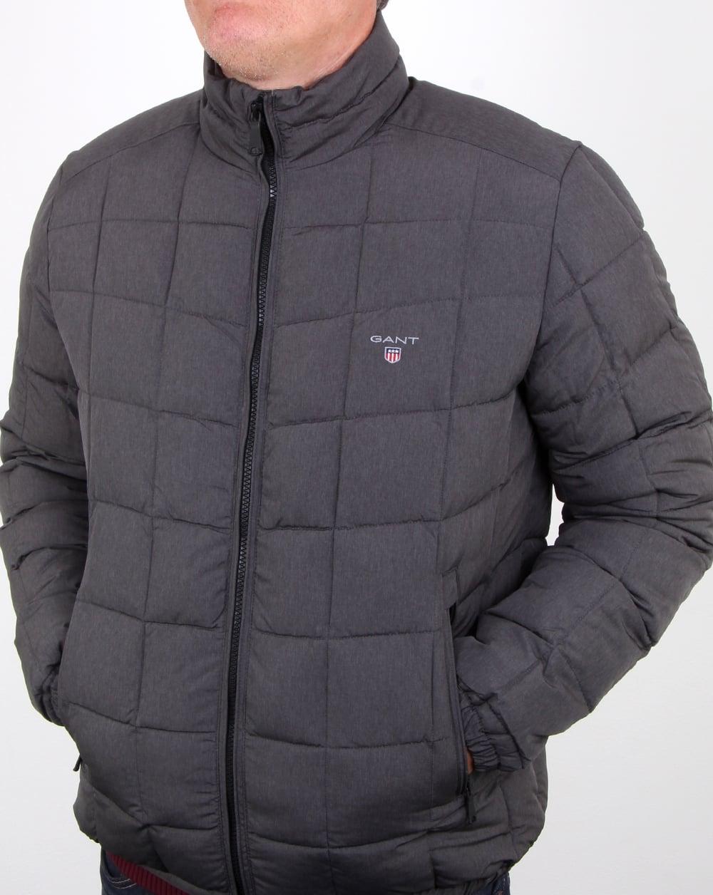 55b8fa9a9 Gant Lw Cloud Jacket Charcoal Melange
