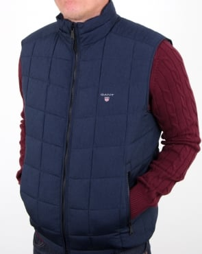 Gant Lw Cloud Vest Navy