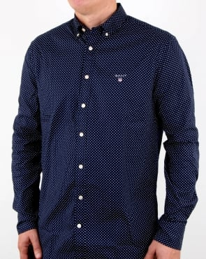 Gant Mini Star detail Shirt Blue
