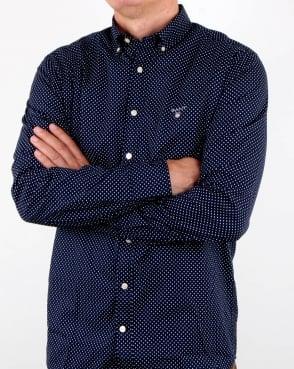 Gant Mini Star detail Shirt Blue