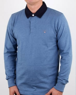 Gant Original Heavy Rugger Denim Blue Melange