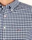 Gant Oxford Gingham Shirt Persian Blue