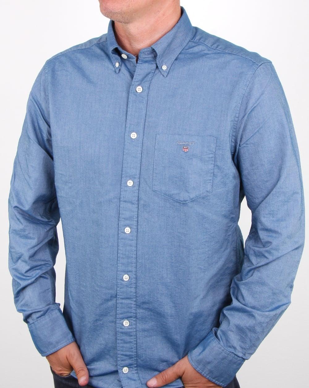 e486076fdce Gant Oxford Shirt Navy | 80s casual classics