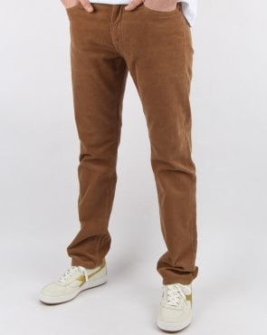 Gant Regular Cord Jeans Roasted Walnut