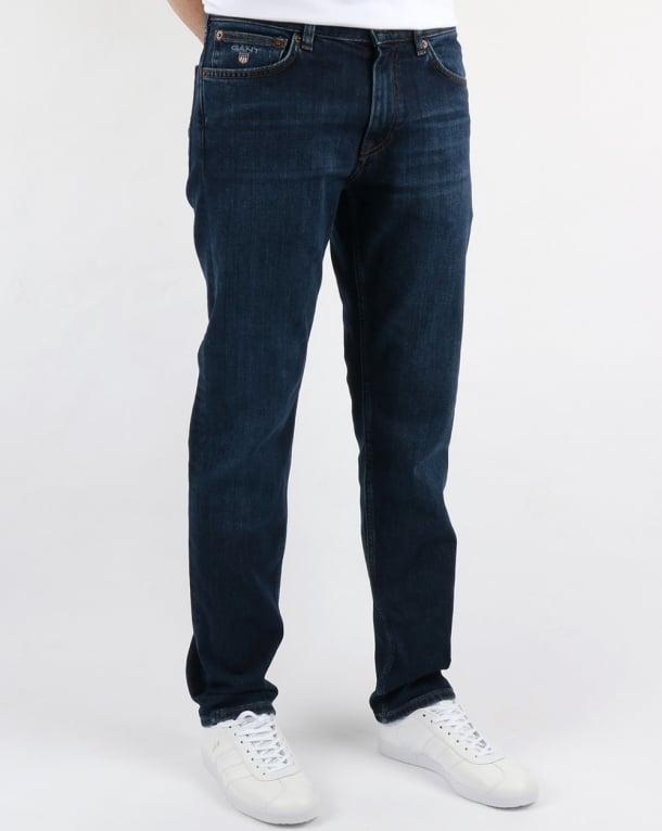 Gant Regular Jeans Dark Blue Worn In