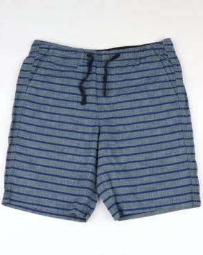 Gant Relaxed Printed Shorts Lava Blue