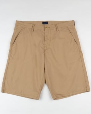 Gant Relaxed Summer Shorts Tan