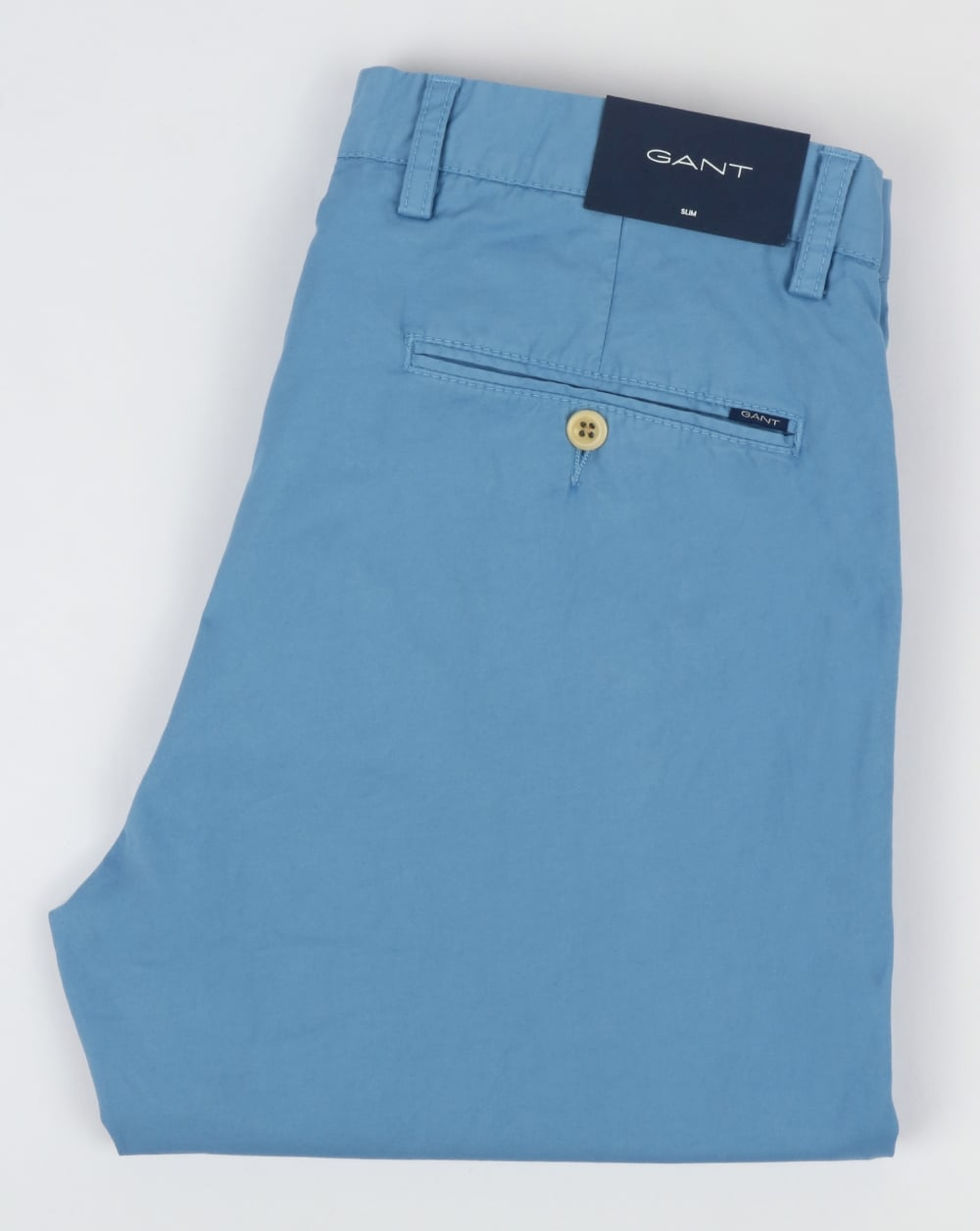 GANT Gant Slim Sunbleached Chino in Lava Blue
