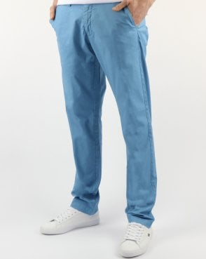 Gant Slim Sunbleached Chino Lava Blue