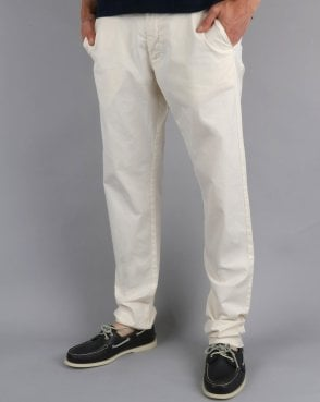 Gant Slim Sunbleached Chino Off White