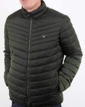Gant The Airlight Down Jacket Moss Green