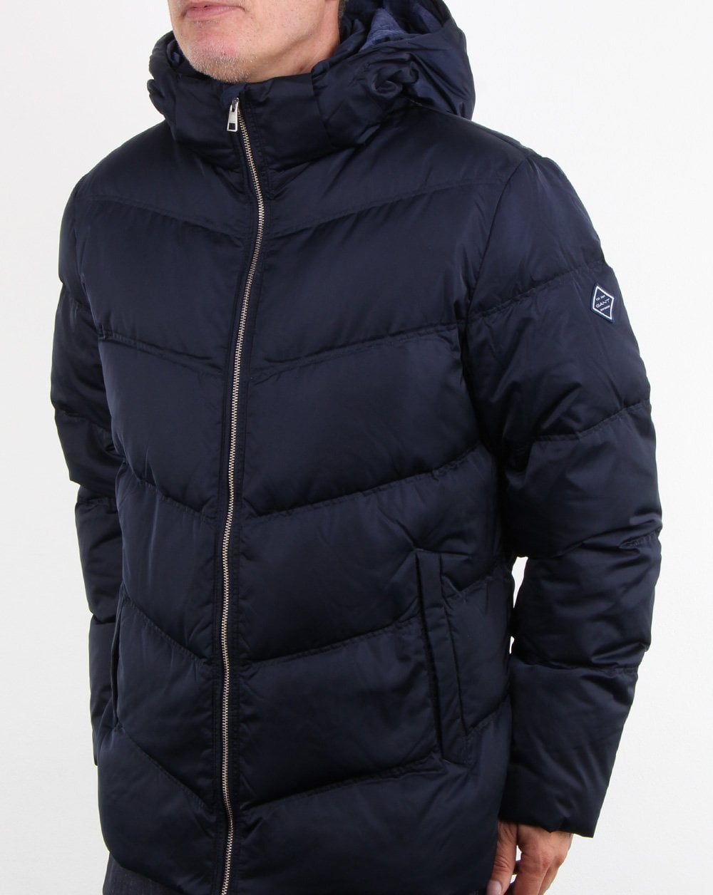 Gant The Alta Down Jacket Marine | Country Attire US