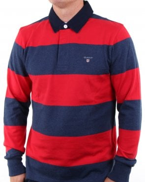 Gant The Original Barstripe Heavy Rugger Red