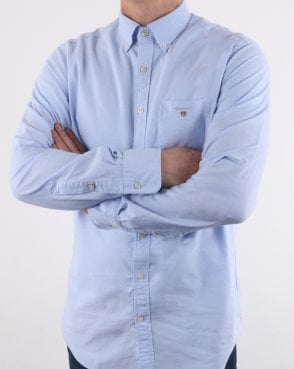 Gant The Oxford Button Down Shirt Capri Blue