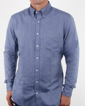 Gant The Oxford Button Down Shirt Persian Blue