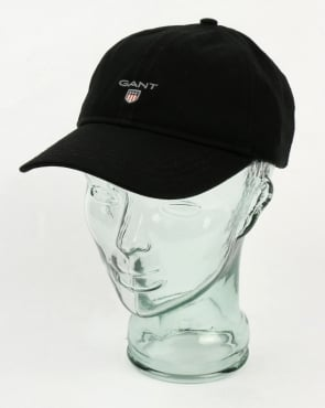 Gant Twill Cap Black