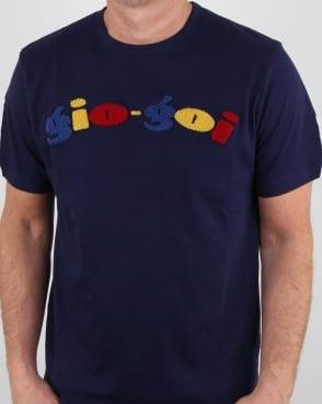 Gio-goi Boucle T Shirt Navy