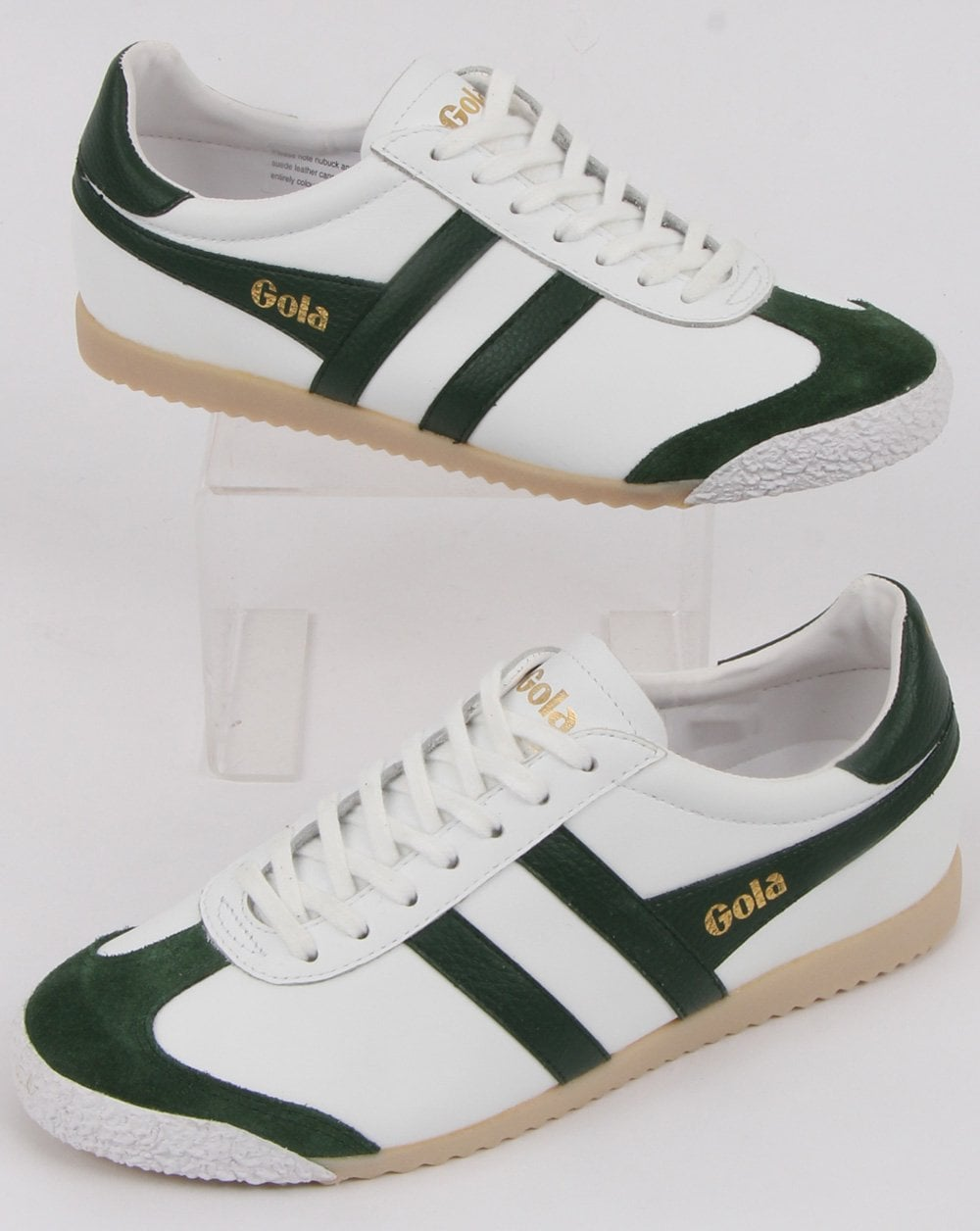 Gola Harrier 50 Leather Trainer in