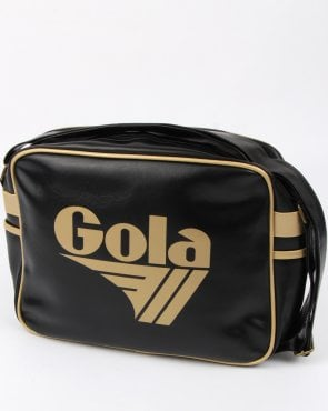 Gola Redford Shoulder Bag Black/gold