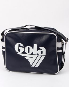 Gola Redford Shoulder Bag Navy/white