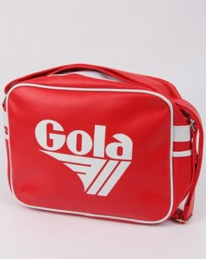 Gola Redford Shoulder Bag Red/white