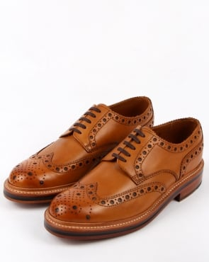 Grenson Archie Gibson Brogues Tan