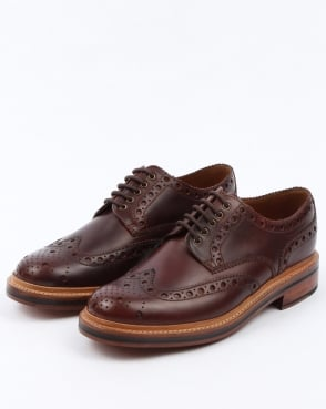 Grenson Gibson Brogues Chestnut