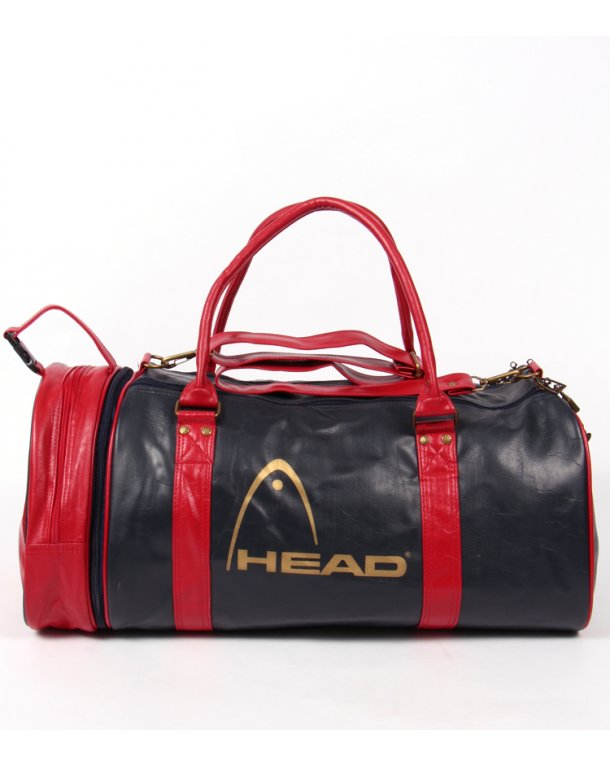 Head Monte Carlo 80s Holdall Navy/red/gold