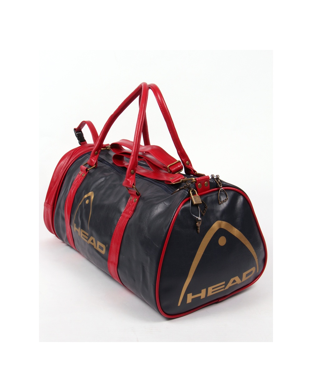 7c61001c7843 Head Head Monte Carlo 80s Holdall Navy red gold