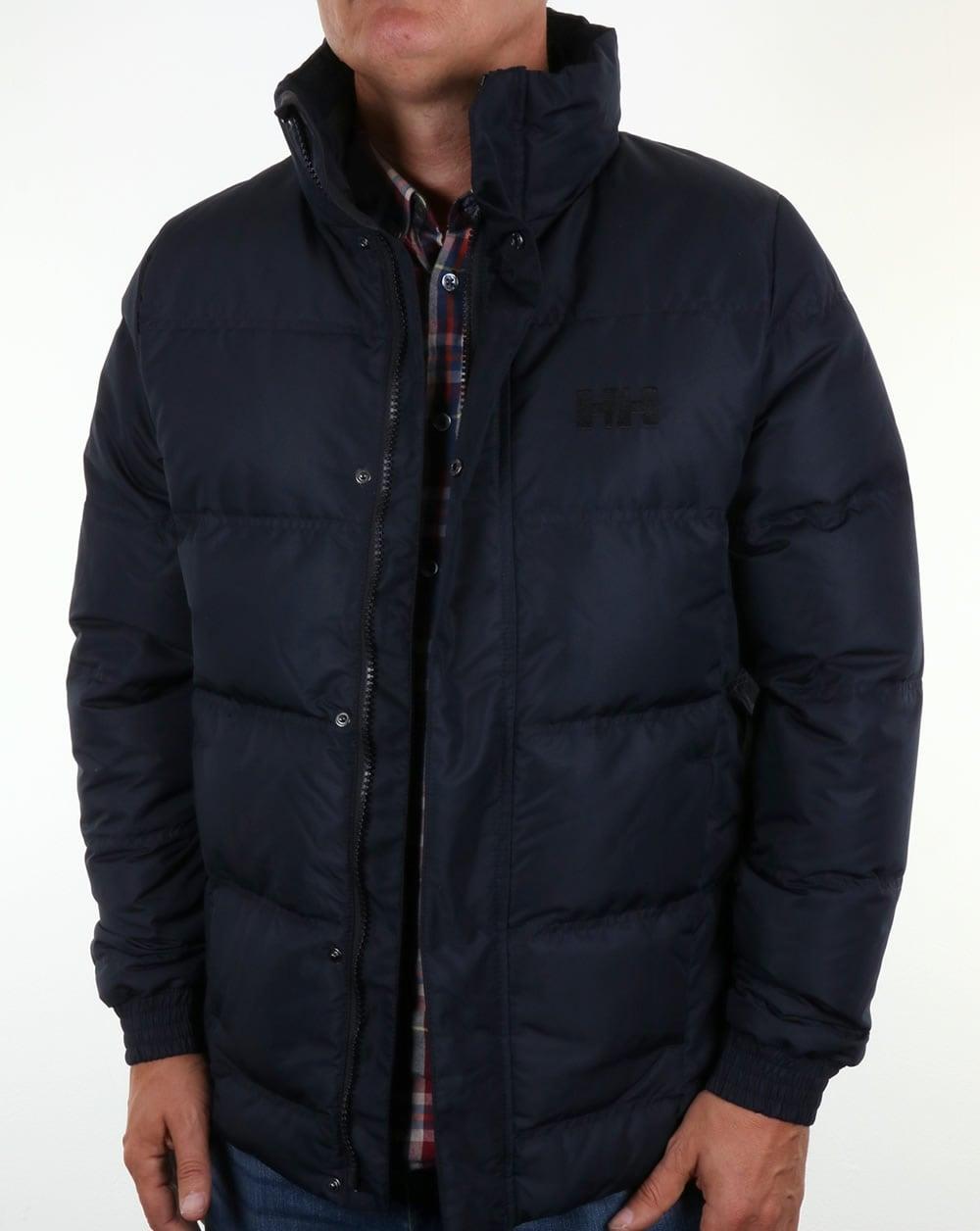 helly hansen dubliner down jacket navy coat mens. Black Bedroom Furniture Sets. Home Design Ideas
