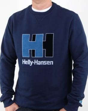 Helly Hansen HH Crew Sweat Evening Blue