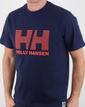 Helly Hansen HH Crew T Shirt Evening Blue