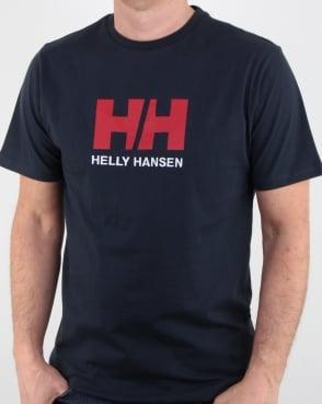 Helly Hansen Hh Logo T Shirt Dark Navy