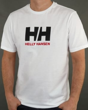 Helly Hansen HH Logo T Shirt White