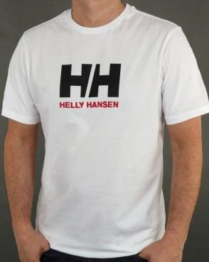 Helly Hansen HH Logo T Shirt White