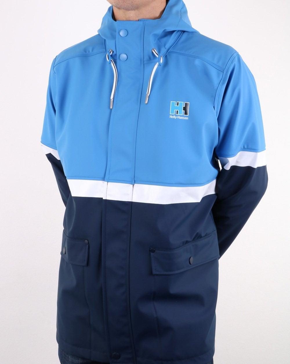 5861225d3c Helly Hansen Rain Jacket, Blue/Navy | 80s casual classics