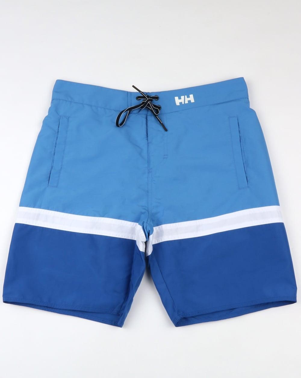 9b31db8698875 Helly Hansen Marstrand Swim Shorts Blue Water   80s casual classics