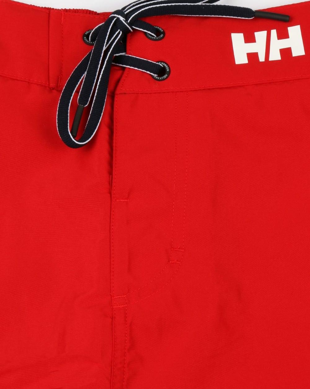 e6421d93f8323 Helly Hansen Marstrand Swim Shorts Red/Navy   80s casual classics