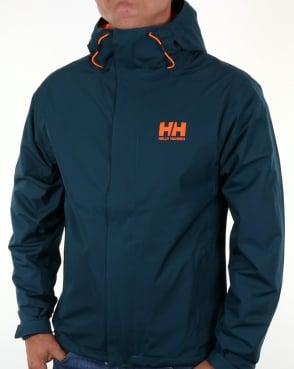 Helly Hansen Seven J Jacket Midnight Green